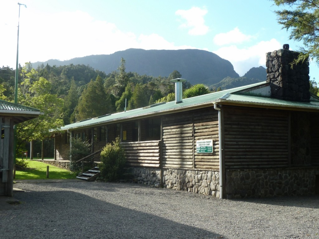 View of Table top mountain and the front entrance / parking area